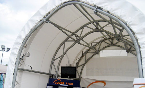 Portable Fabric Structures : Cover star structures ltd portable fabric